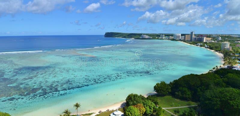 Baie de Tumon, Guam photos stock