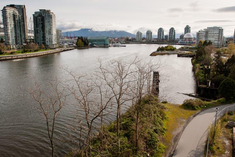 Baie de Vancouver photo stock
