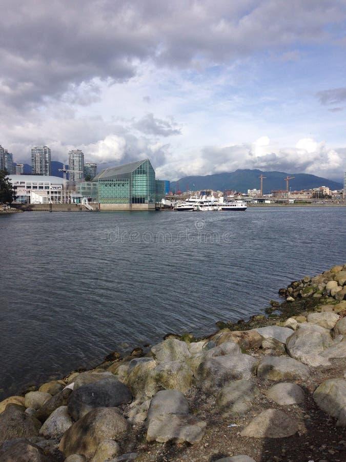 Baie de Vancouver images libres de droits