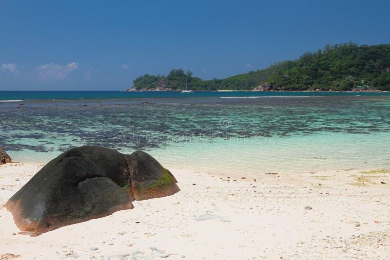 Baie Lazare, Mahe, Seychellerna royaltyfri bild