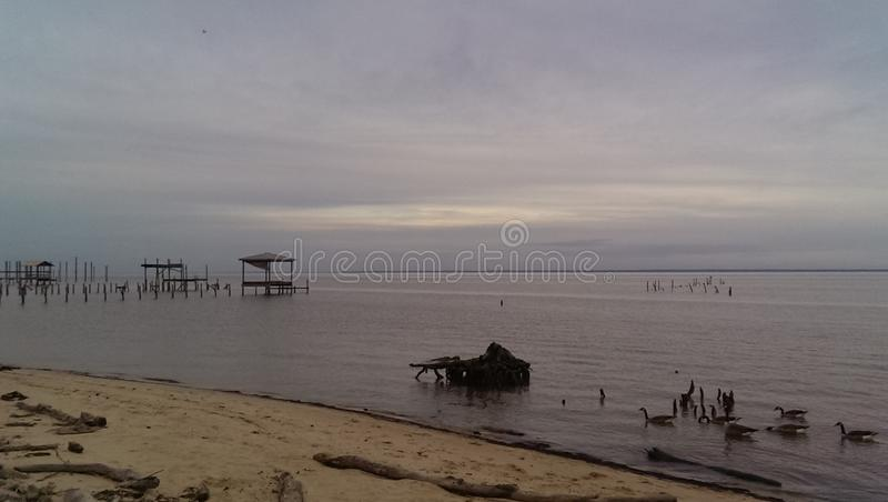 Baie mobile photographie stock