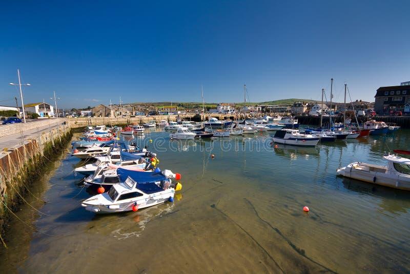 Baie occidentale, Dorset, R-U photographie stock libre de droits