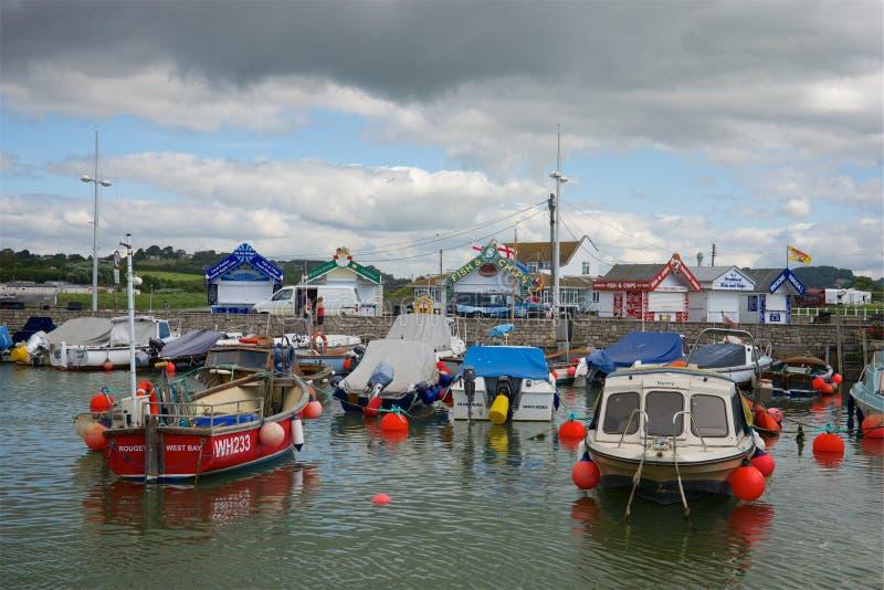Baie occidentale, Dorset, R-U images stock