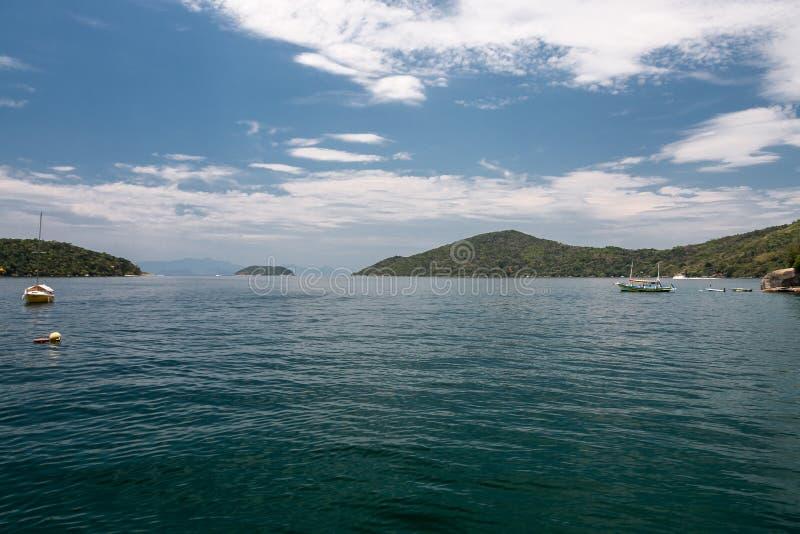 Baie Rio de Janeiro Brazil de Paraty photos libres de droits