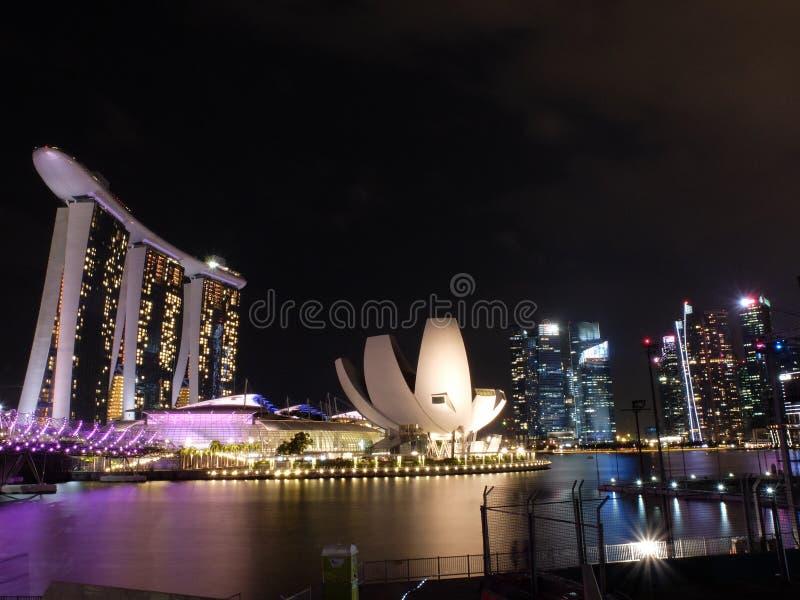 Baie Singapour de Merina image libre de droits