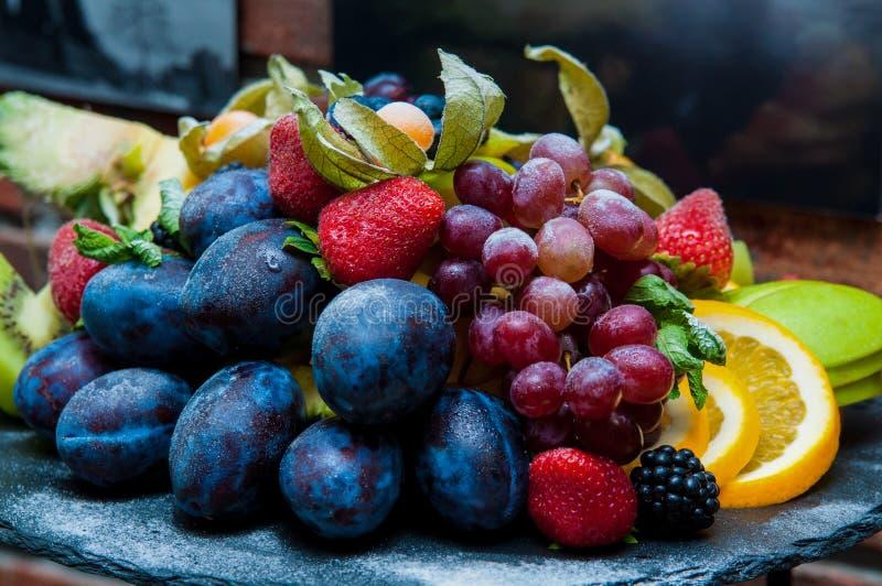 Baies et fruits photos libres de droits