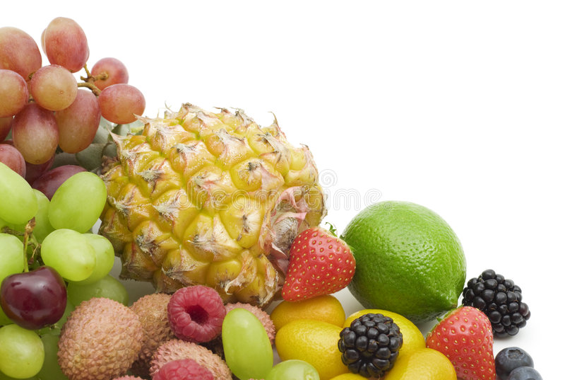 Baies et fruits frais photo libre de droits
