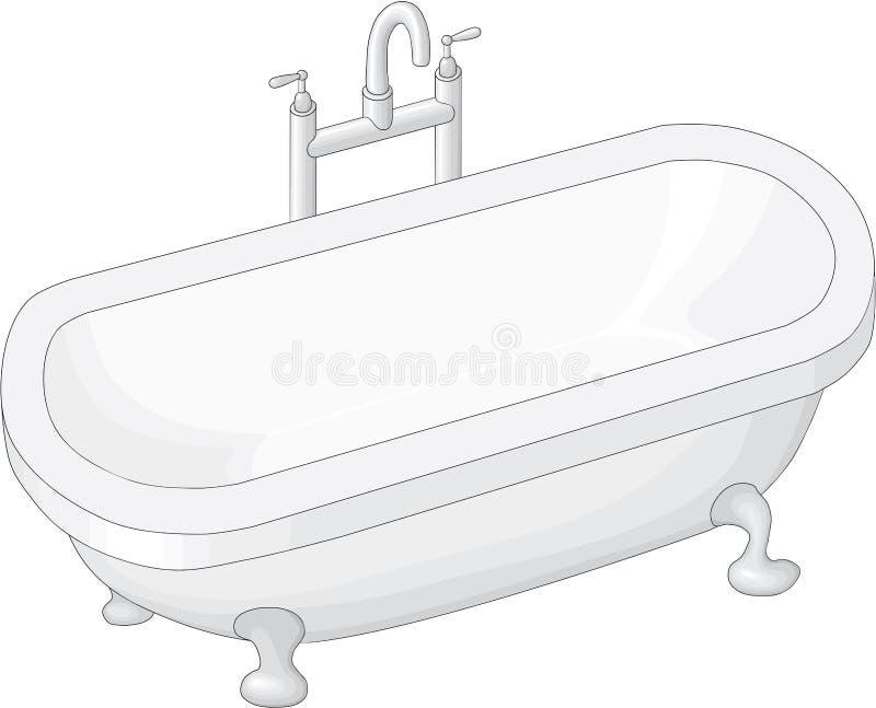 baignoire photo libre de droits