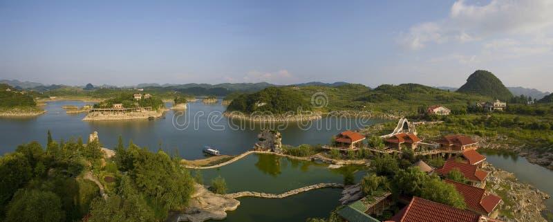 Baihua Lake royalty free stock photos
