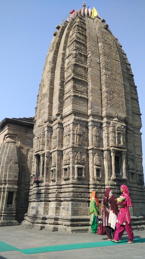 Baijnath shiv寺庙 库存图片