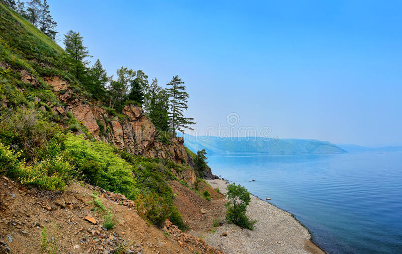 Baikal-Kapsommertag stockfotos