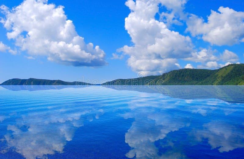 baikal lake royaltyfri foto