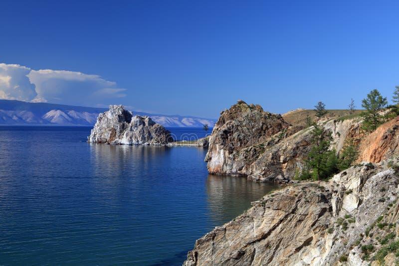 baikal lake royaltyfria bilder