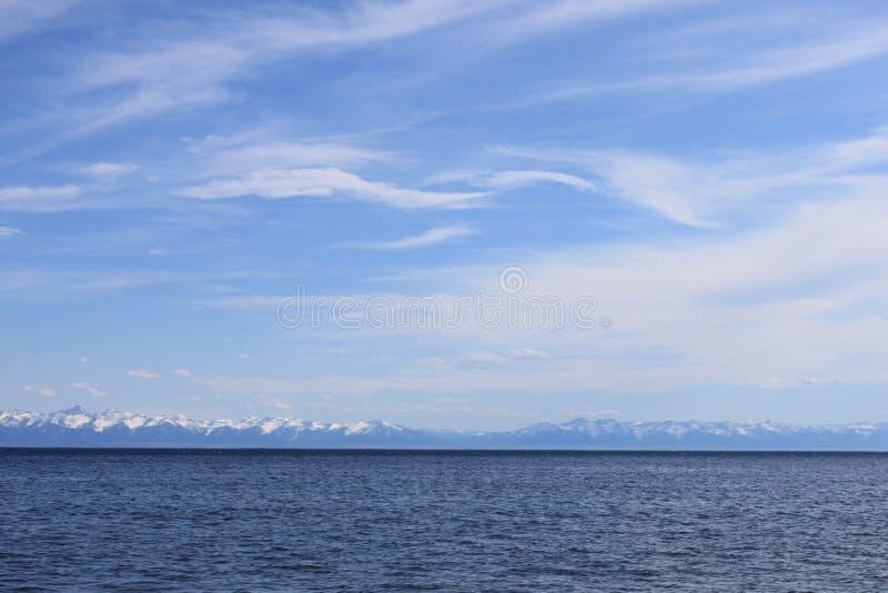 baikal lake royaltyfri bild