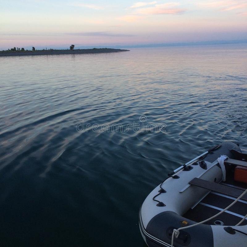 baikal lake arkivfoton