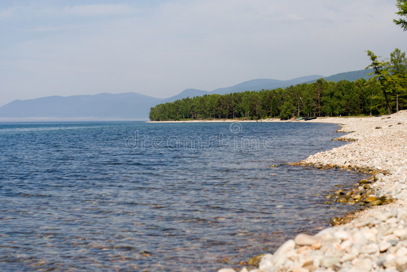 Download Baikal lakeside stock image. Image of lakeside, gravel - 3071779