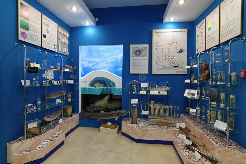Baikal Museum Editorial Stock Image