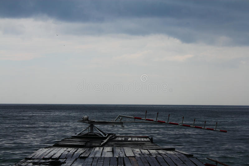Baikal Before The Storm Royalty Free Stock Photography