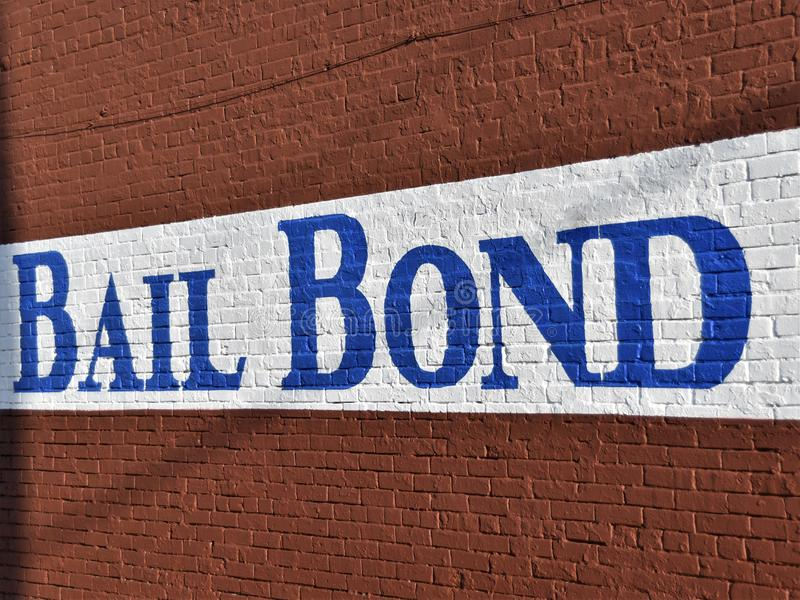 Bail Bondsman Bondsperson Corporation stock photos