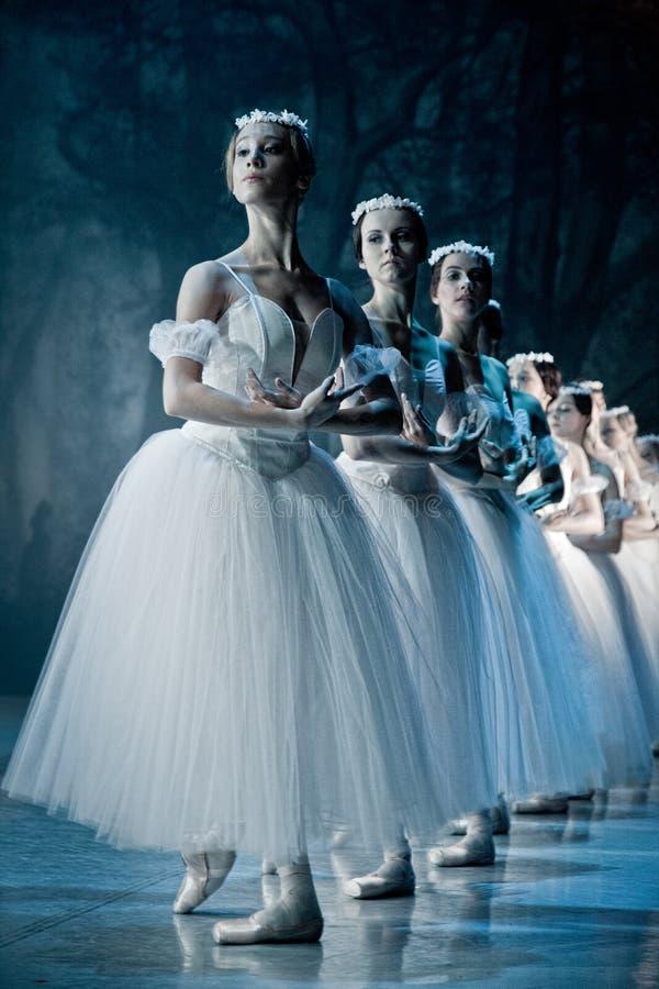 Bailado Giselle na ópera do estado de Praga fotografia de stock royalty free
