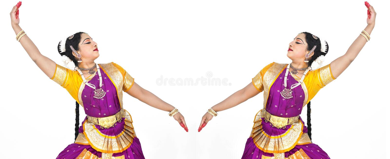 Bailarín clásico de sexo femenino de Asia imagenes de archivo