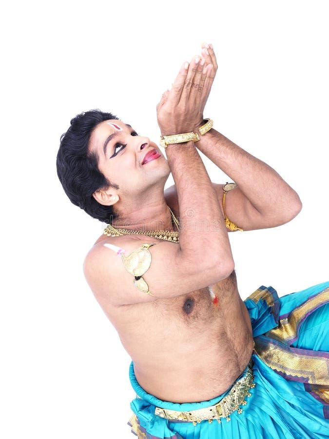 Bailarín clásico de sexo masculino de Asia fotos de archivo
