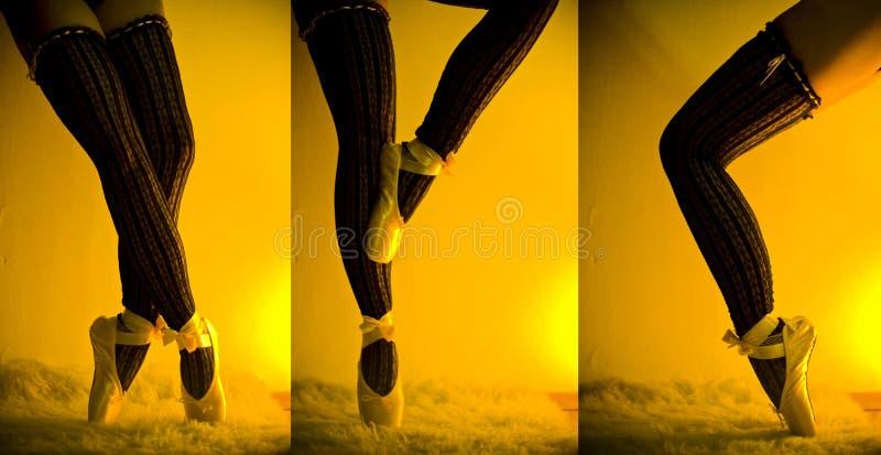 Bailarín de ballet fotografía de archivo