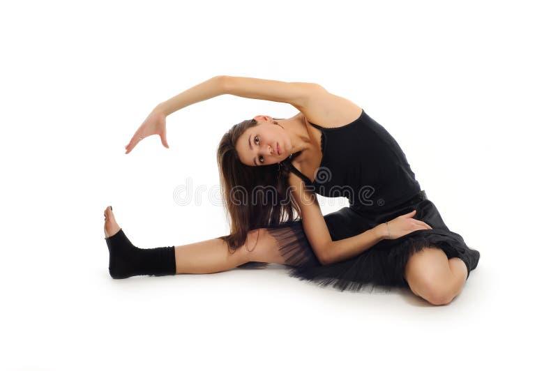 Bailarín de ballet de sexo femenino fotos de archivo libres de regalías