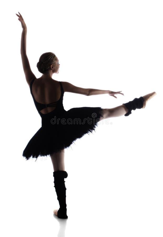 Bailarín de ballet de sexo femenino fotografía de archivo libre de regalías