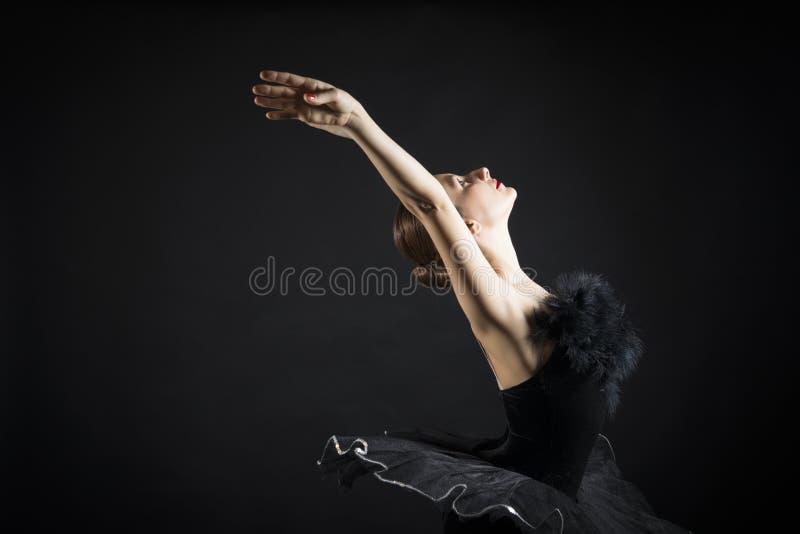 Bailarín de ballet hermoso imagenes de archivo