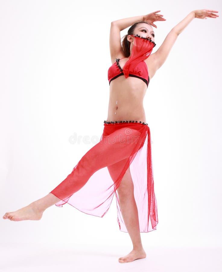 Bailarín de la mujer fotografía de archivo libre de regalías