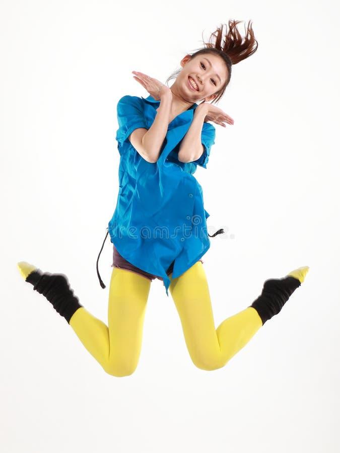 Bailarín de sexo femenino fotografía de archivo