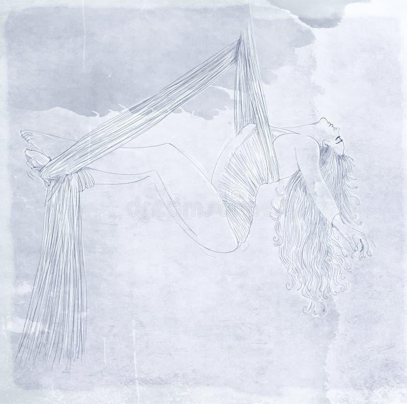 Bailarín del acróbata libre illustration
