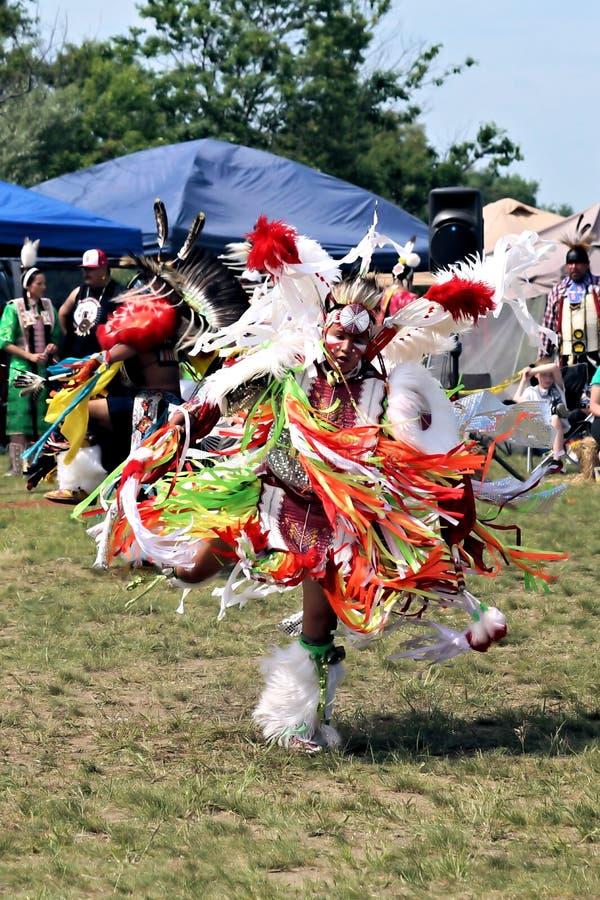 Bailarín del nativo americano imágenes de archivo libres de regalías