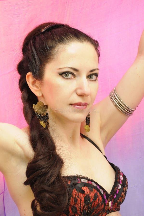 Bailarín en rosa foto de archivo libre de regalías