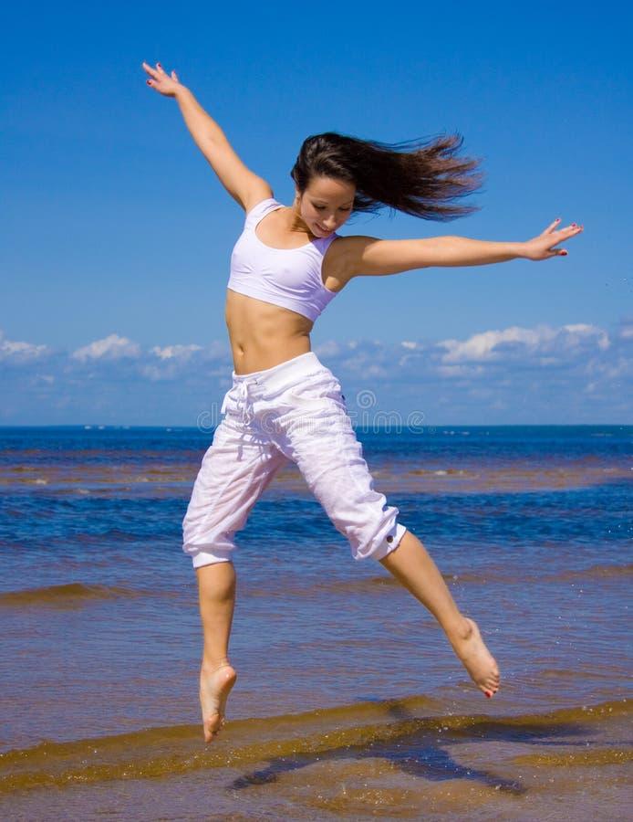 Bailarín hermoso fotos de archivo
