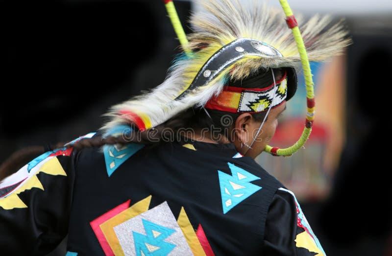 Bailarín indio del aro imagenes de archivo