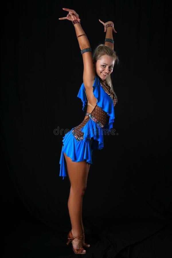 Bailarín latino rubio foto de archivo libre de regalías