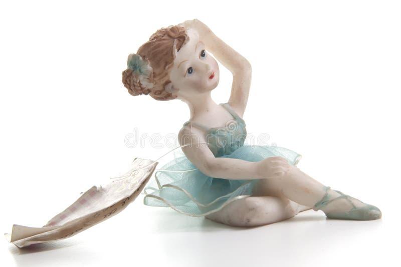 Bailarín minúsculo imagenes de archivo