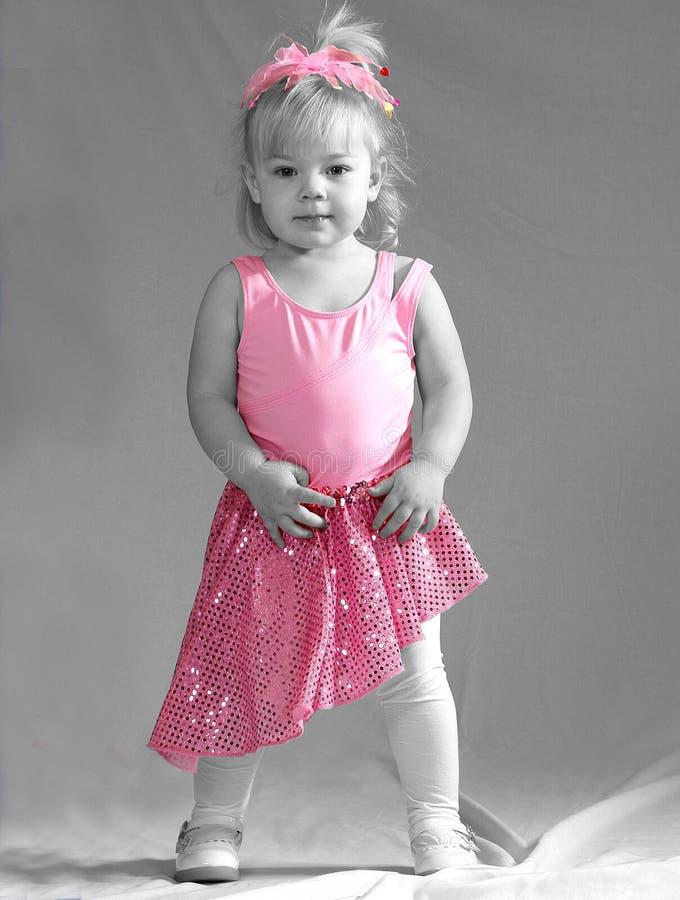 Bailarín minúsculo fotografía de archivo