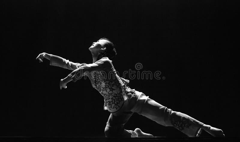 Bailarín moderno chino foto de archivo