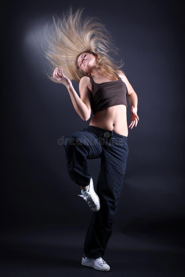 Bailarín moderno de la mujer imagen de archivo libre de regalías