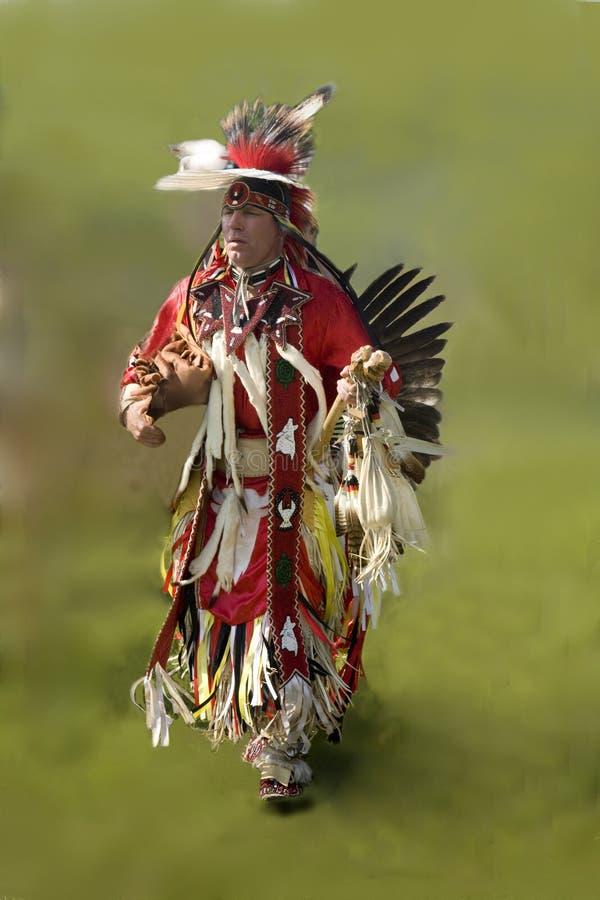Bailarín nativo imagen de archivo