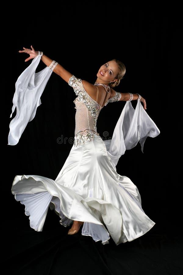 Bailarín rubio foto de archivo libre de regalías