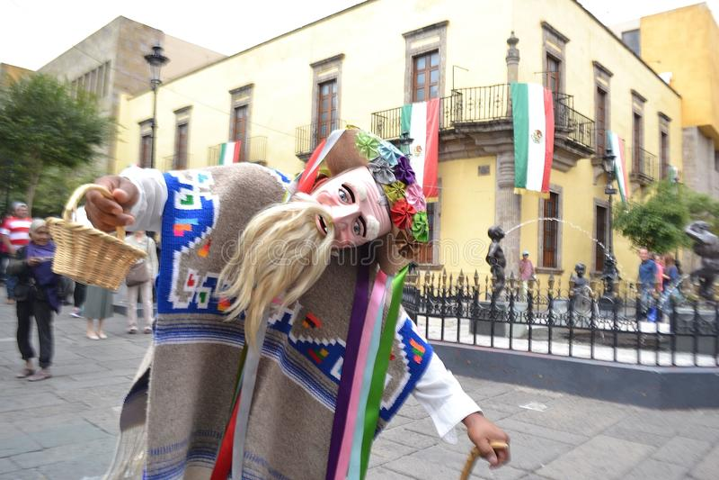 Bailarín típico en Gudalajara México fotos de archivo libres de regalías