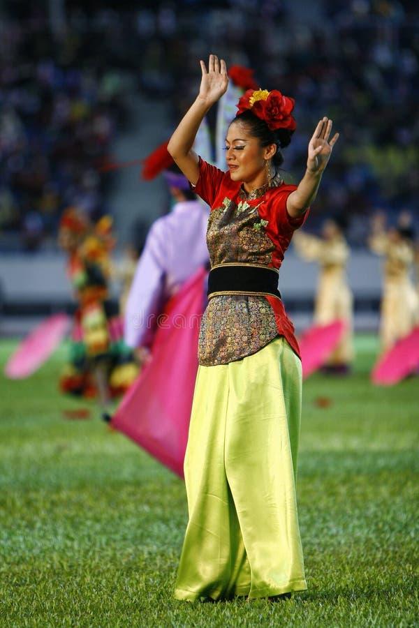 Bailarín tradicional fotografía de archivo