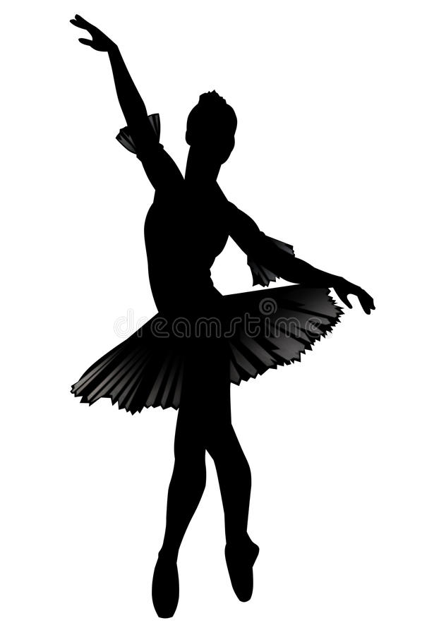 A bailarina ilustração do vetor