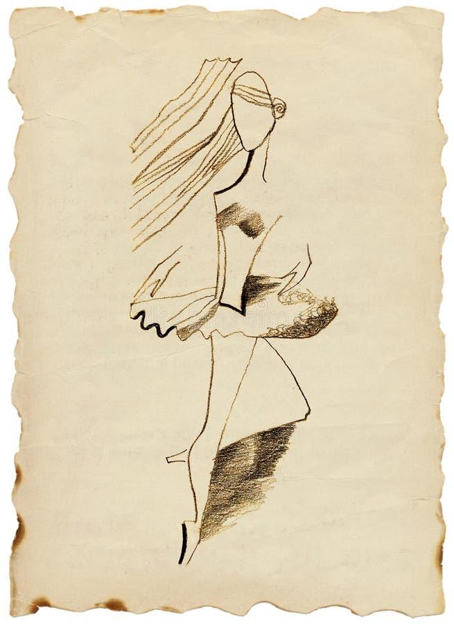 Bailarina Imagen de archivo