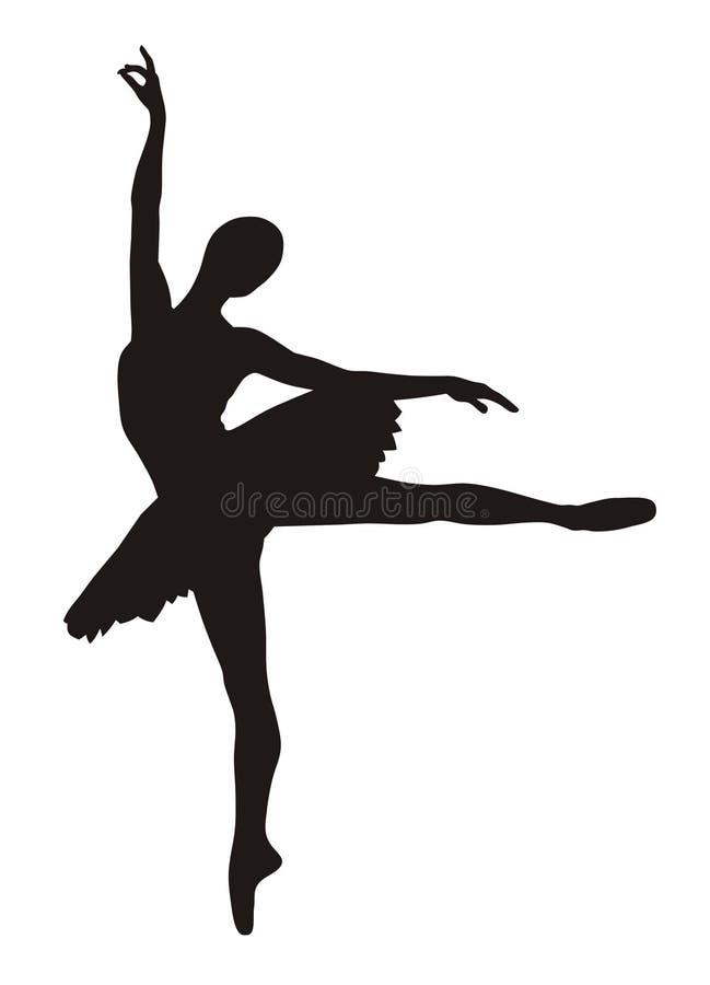 Bailarina ilustração do vetor