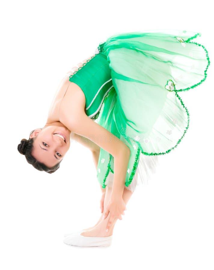 Bailarina alegre imagem de stock royalty free